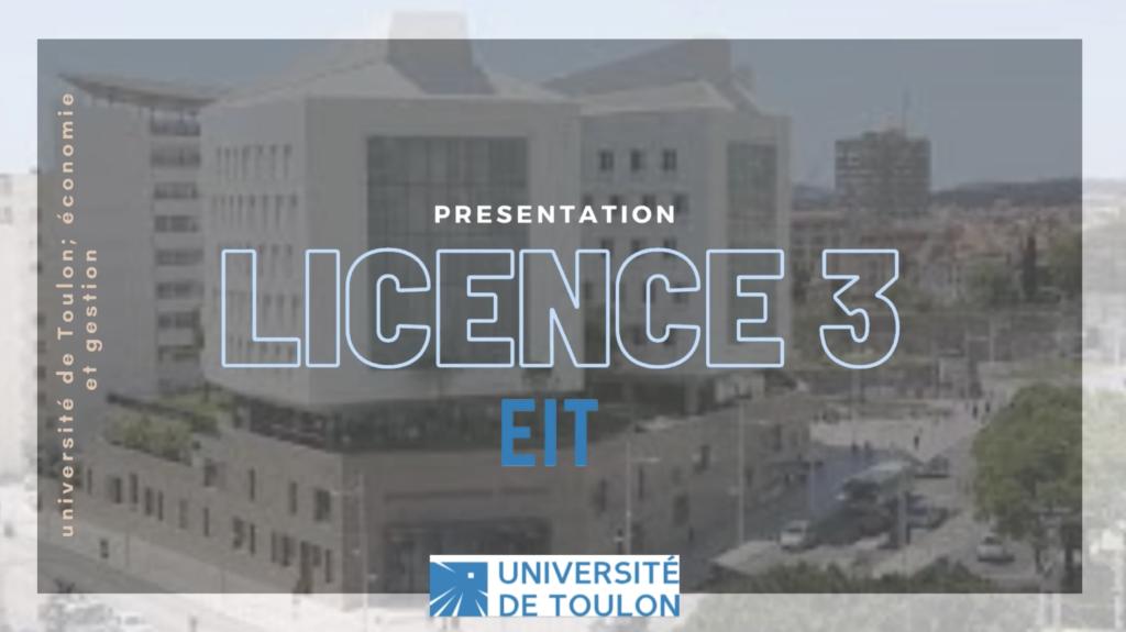 Licence 3 IET